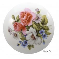 Ceramic Flower Lids