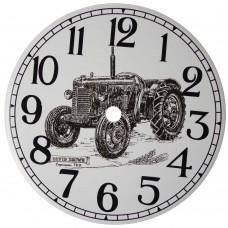 Ceramic Clock Tile David Brown