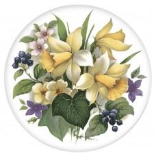 Ceramic Tile Daffodil