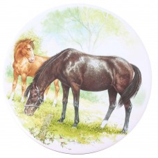 Ceramic Tile Horse and Foal [D]