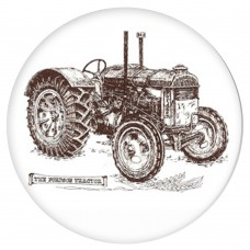 Ceramic Tile Ford-son Tractor