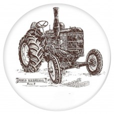 Ceramic Tile Field Marshal Tractor