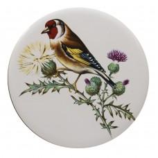 Ceramic Tile Bull Finch