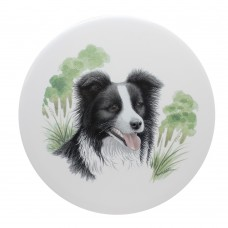 Border Collie Ceramic Tile