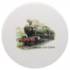 Ceramic Tile Cambrian Express Train
