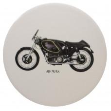 Ceramic Tile AJS Motor Bike
