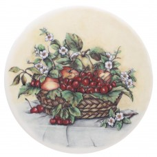 Ceramic Tile Cherry Basket
