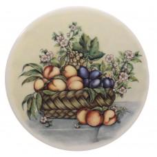Ceramic Tile  Peach Basket