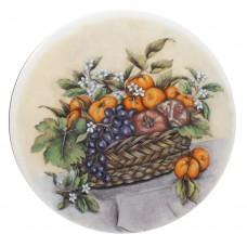 Ceramic Tile Grape Basket