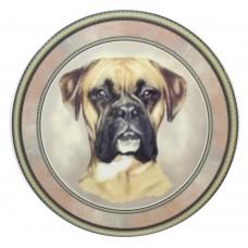 ceramic Tile Boxer Dog