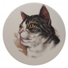 Ceramic Tile Cats Head 'B'