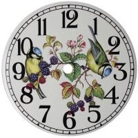 Ceramic Clock Blue Tit