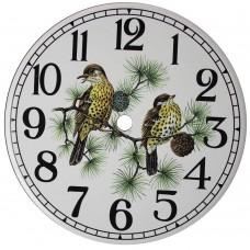 Ceramic Clock Thrush