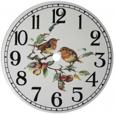 Ceramic Clock Robin