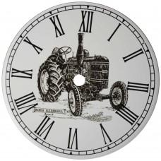 Ceramic Clock Tile Field Marshal Tractor