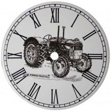 Ceramic Clock Tile Fordson Tractor