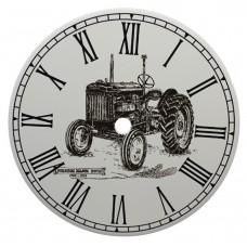 Ceramic Clock Tile Fordson Major Tractor