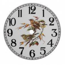 Ceramic Clock Tile Chaffinch