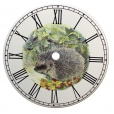 Ceramic Clock Hedgehog