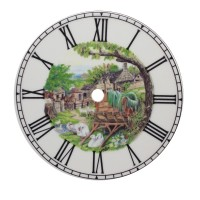 Swan Clock Tile