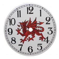 Ceramic Clock Tile Dragon