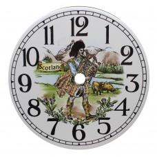 Ceramic Clock Tile Scotland
