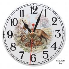Ceramic Clock Kit Fox Arabic Face