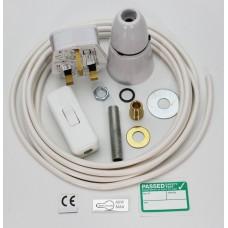 White Inline Lamp Kit